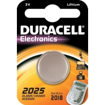 Duracell CR 2025 Lityım Pil 3 Volt