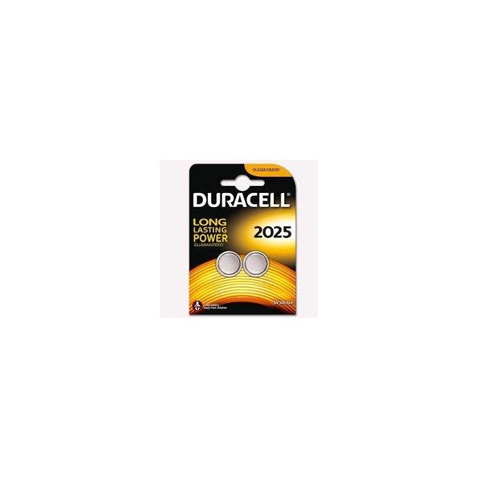 Duracell CR 2025 Lityım Pil 3 Volt 2 li