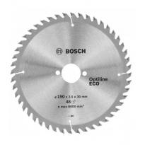 Bosch Optine Eco Daire Testere Bıçağı 190x30 mm 48 Diş 2 608 641 790