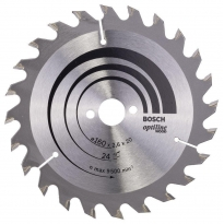 Bosch Optiline Wood 160X2,6X20/16 mm 24 Diş Testere