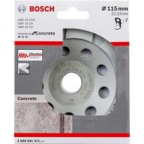 Bosch Standart Seri Beton İçin Elmas Çanak Disk 115 mm
