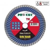 Procut TK 115 mm Turbo Kanallı Elmas Testere