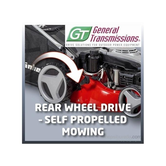 Einhell GC PM 46/2 S HW-E Benzinli Çim Biçme