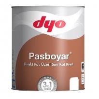 Dyo Pasboyar 2,5 Litre Koyu Kahve Pasboyası