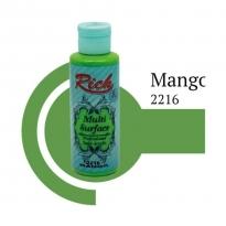 Rich Multi Surface 2216 Mango Akrilik Boya 120 cc