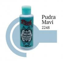 Rich Multi Surface 2248 Pudra Mavi Akrilik Boya 120 cc