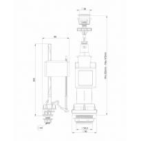 1/2X1/2 Nipelli Flex Hortum 100 cm