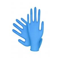 Handy Mavi Lateks Medium Pudrasız Muayene Eldiveni