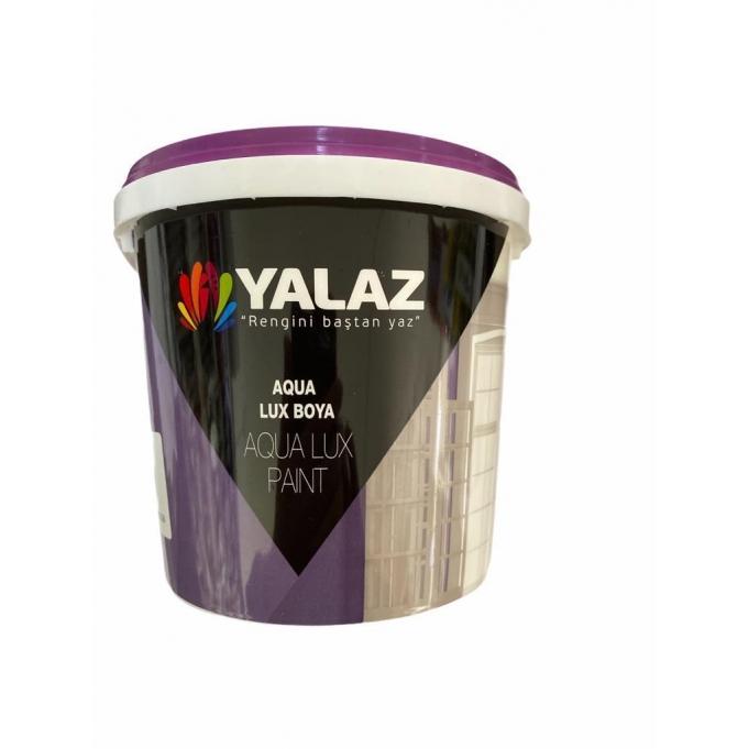 Yalaz Su Bazlı Parlak Beyaz İç Dış Boya 2,5 Litre