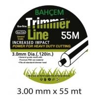 Bahçem Trimmer Line Tırpan Misinası 3 mm 53 Metre