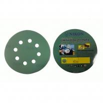 Nikon 52040 Kırılmaz Yeşil Cırt Zımpara 125X220 Kum 8 Delikli