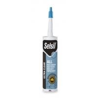 Selsil Hibrit Ultra Clear Yapıştırıcı 290 ML