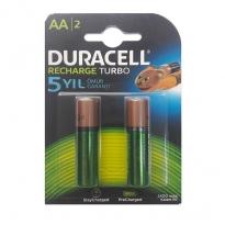 Duracell ޞarj Edilebilir Kalem Pil 2'Lİ AA 2500 mAh