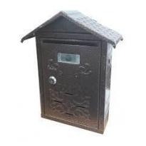 Posta Kutusu Çatılı Bakır Desenli